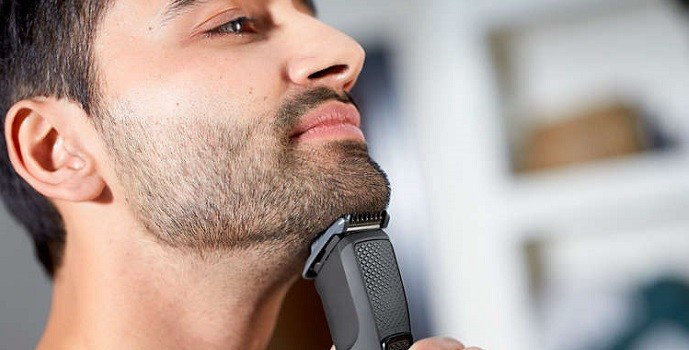 how to use hair trimmer on beard